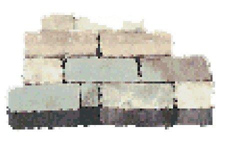 Irregular Wall 2000 Stk