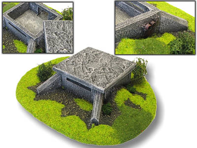 Bunker für H0/TT