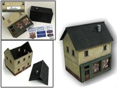 Haus mit Laden für H0/TT