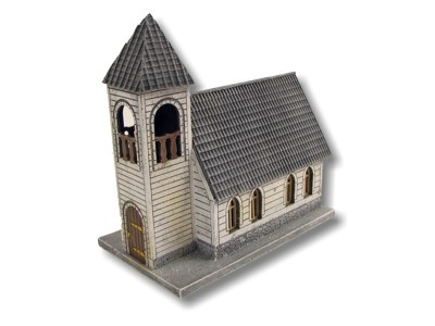 Holzkirche Spur 0