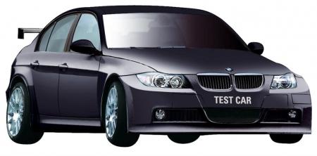 BMW 320si WTCC/ BLACK TEST CAR