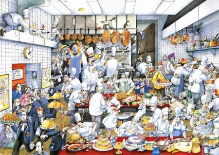 Blachon Bon appétit by Roger Blachon 1500 Teile
