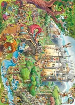 Prades Fairy Tales by Hugo Prades 1500 Teile