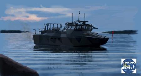 CB90 H - modernes Einsatzboot 1:35