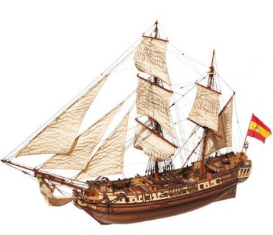 La Candelaria 1:85 Schiffsbausatz