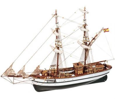 Aurora 1:65 Schiffsbausatz
