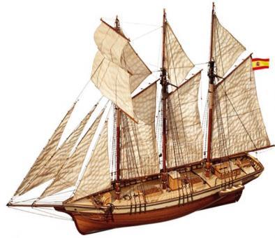 Cala Esmeralda 1:85 Schiffsbausatz