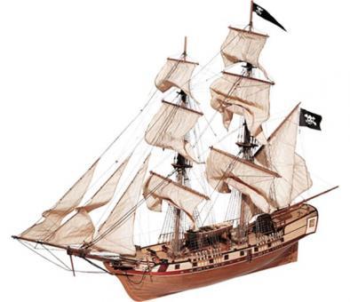 Corsair 1:80 Schiffsbausatz
