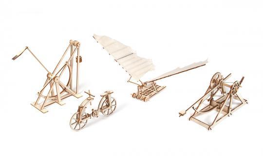 Modelle von Da Vinci
