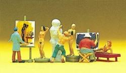 Maler, Bildhauer, Modelle. Zu