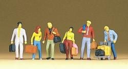 Gehende Reisende