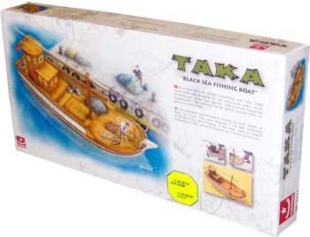 Taka Fischerboot schwarzes Meer 1:35
