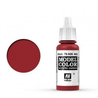 Vallejo Model Color Rot (Red)