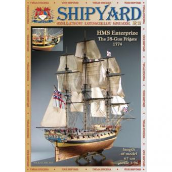 HMS Enterprize Maßstab 1:96