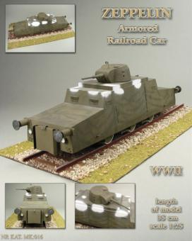 Zeppelin Armored Railroad Car Maßstab 1:25