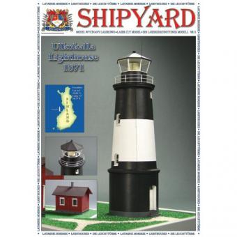 Lighthouse Ulkokalla scale 1:87 (H0)