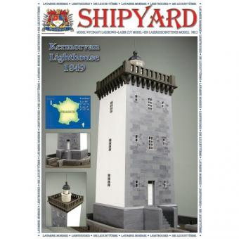 Lighthouse Kermorvan scale 1:72