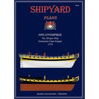 HMS Enterprize Modellpläne