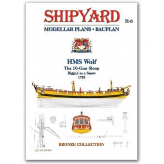 HMS Wolf Modellpläne