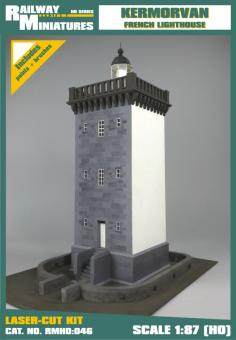 Kermorvan Leuchtturm scale 1:87 (H0)