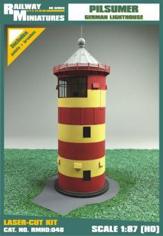 Pilsumer Leuchtturm scale 1:87 (H0)