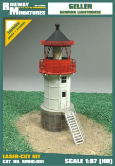 Gellen Lighthouse Leuchturm scale 1:87 (H0)