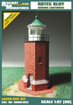 Rotes Kliff Leuchtturm scale 1:87 (H0)