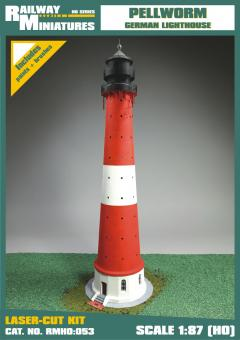 Pellworm  Lighthouse Leuchtturm scale 1:87 (H0)