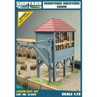Heightened Dockyard Crane